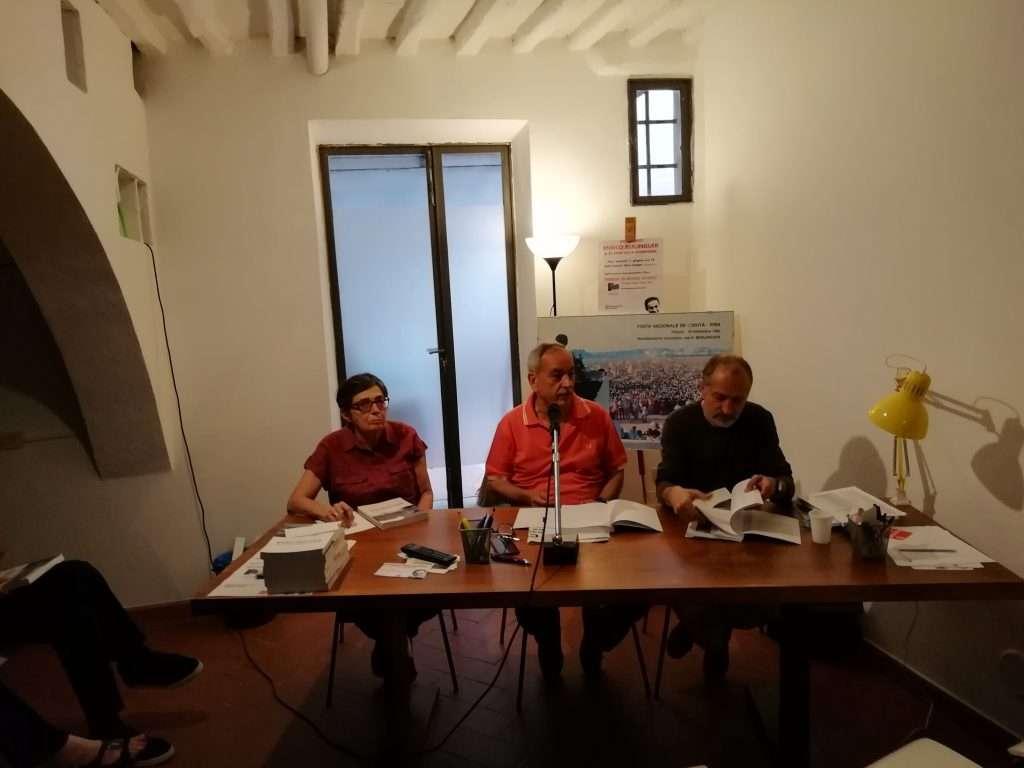 Un bel dibattito su EB allo Spazio Langer di Pisa