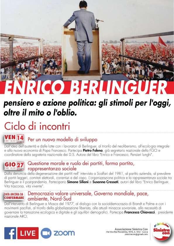 """La questione morale: incontro di """"Sinistra con"""" di Lucca"""